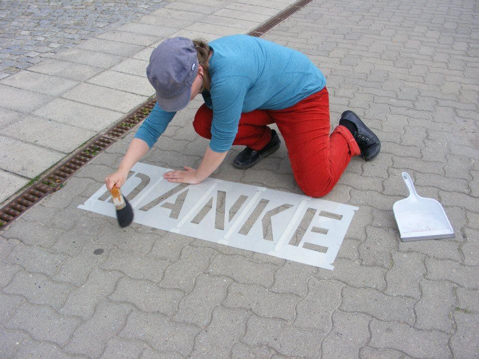 Straßenwörterbuch Aktion