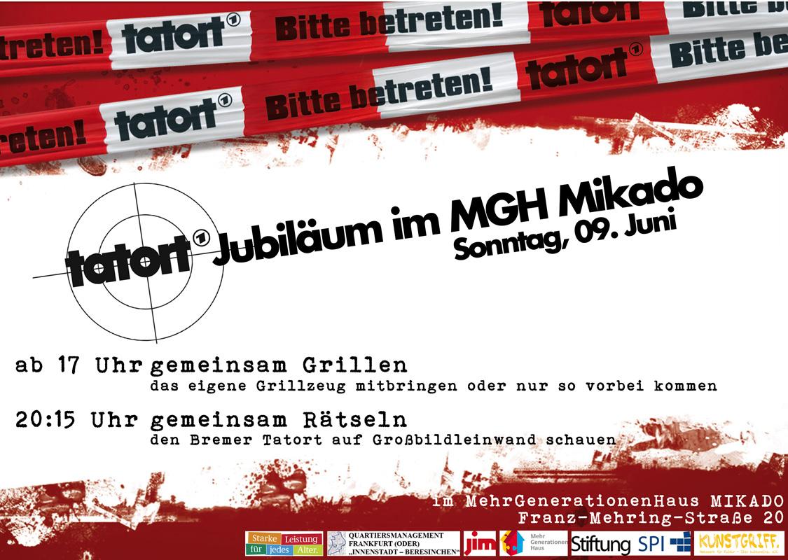Tatort Jubiläum